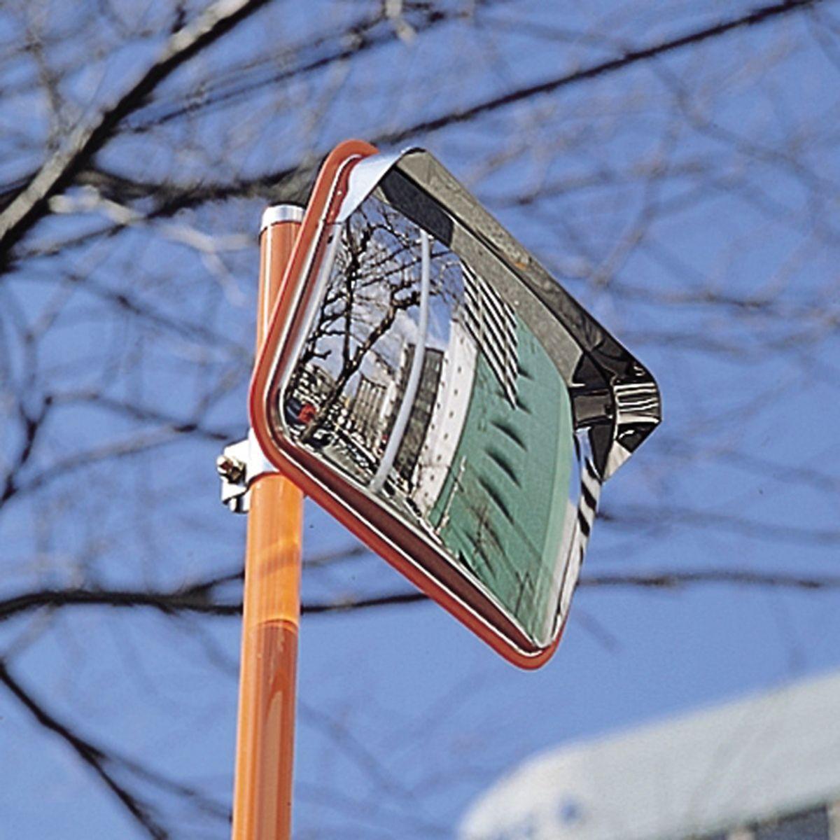 【メーカー在庫あり】 エスコ ESCO 485x375mm 安全ミラー(ステンレス製) 000012239480 JP店