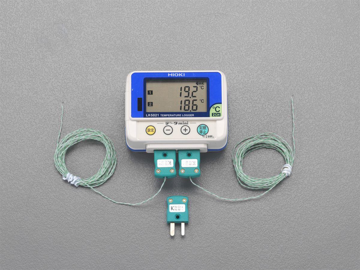 エスコ ESCO 熱電対 温度データロガー 000012211060 JP店