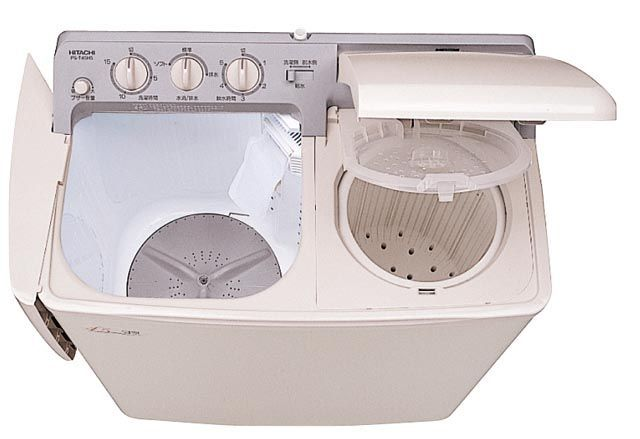 【メーカー在庫あり】 エスコ ESCO 4.5kg/750(W)x425x893mm 2槽式洗濯機 000012080624 JP