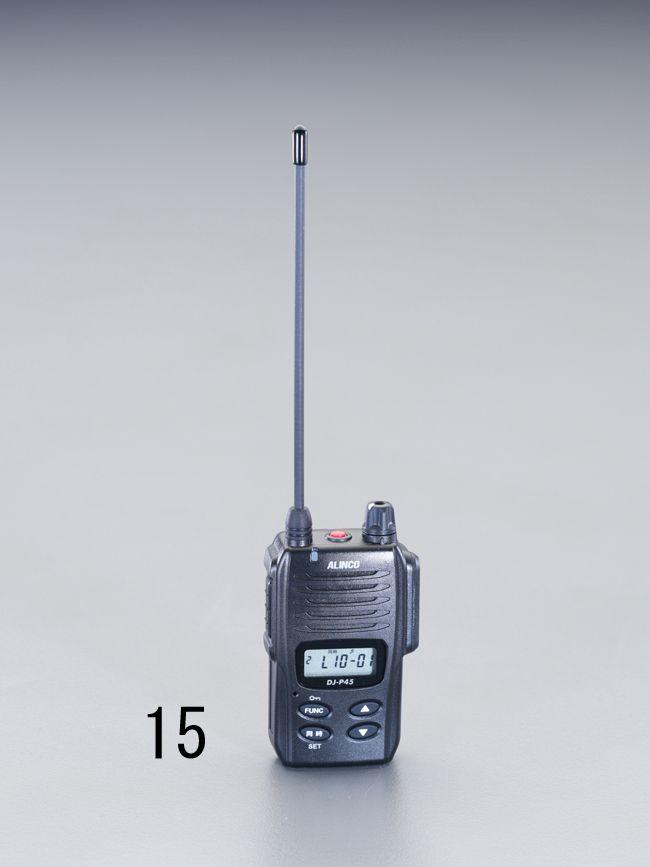【メーカー在庫あり】 エスコ ESCO トランシーバー(同時通話型) 000012212245 JP