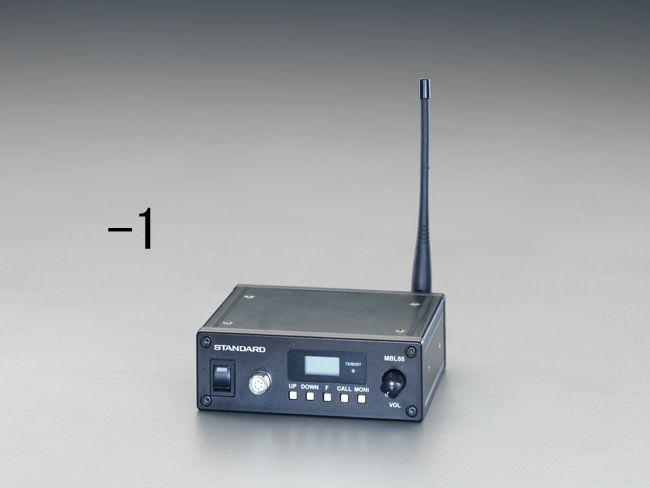 エスコ ESCO 車載用トランシーバー(同時通話型) 000012212257 JP