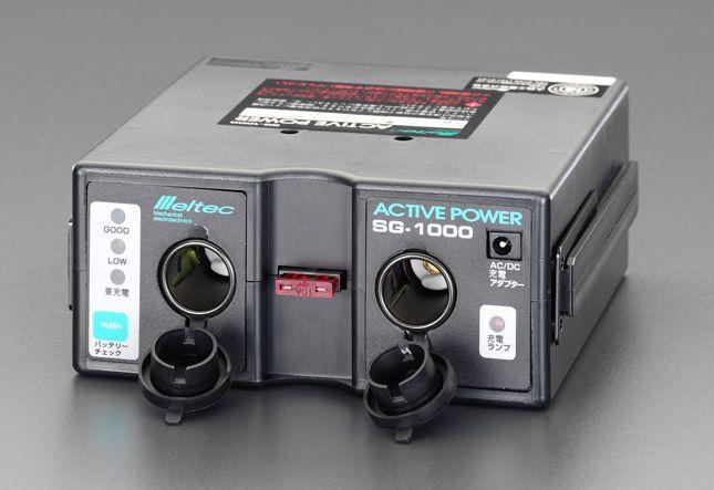 エスコ ESCO DC12V ポータブル電源 000012089308 JP店