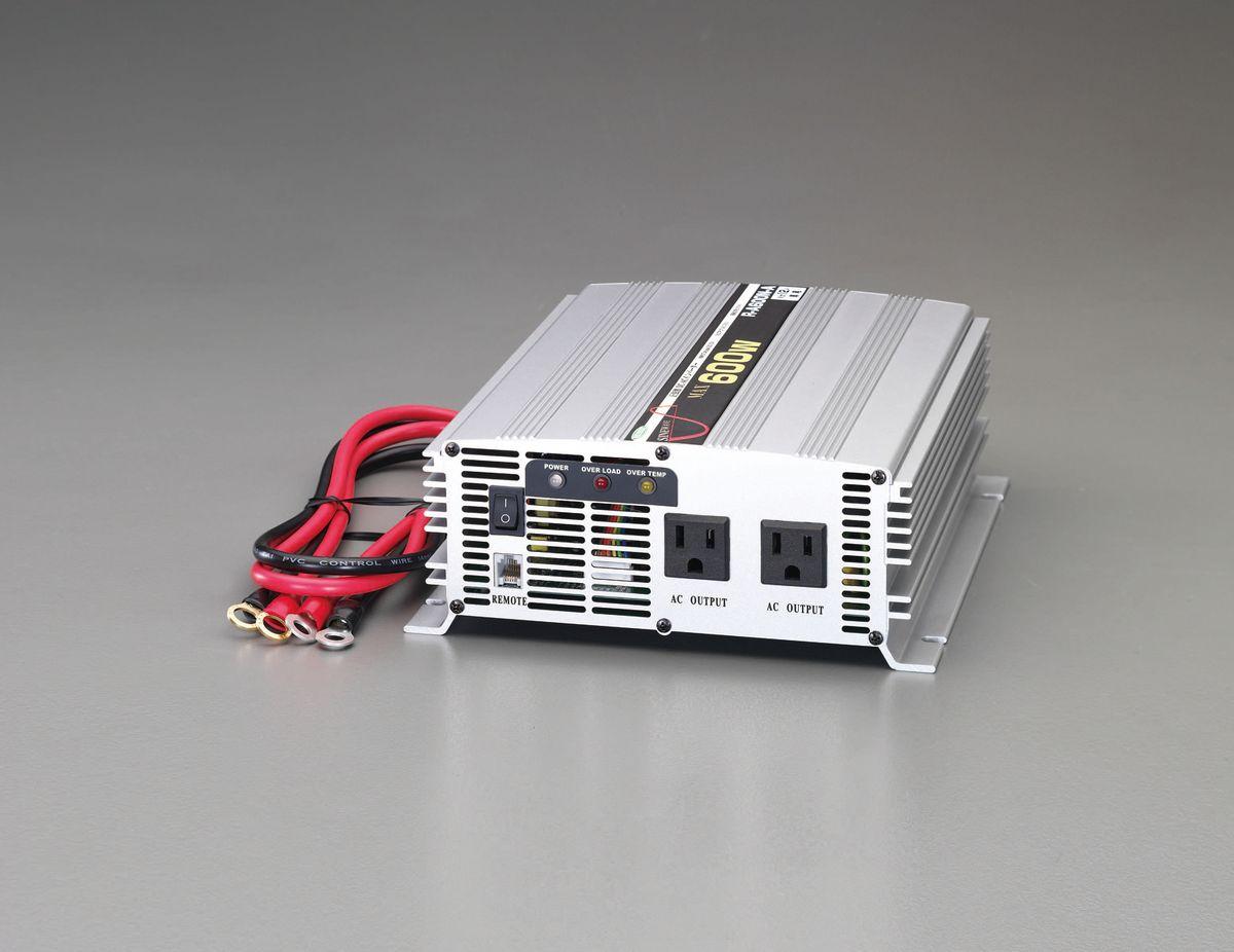 【メーカー在庫あり】 エスコ ESCO DC24V/AC1000V・560W 正弦波インバーター 000012245964 JP店