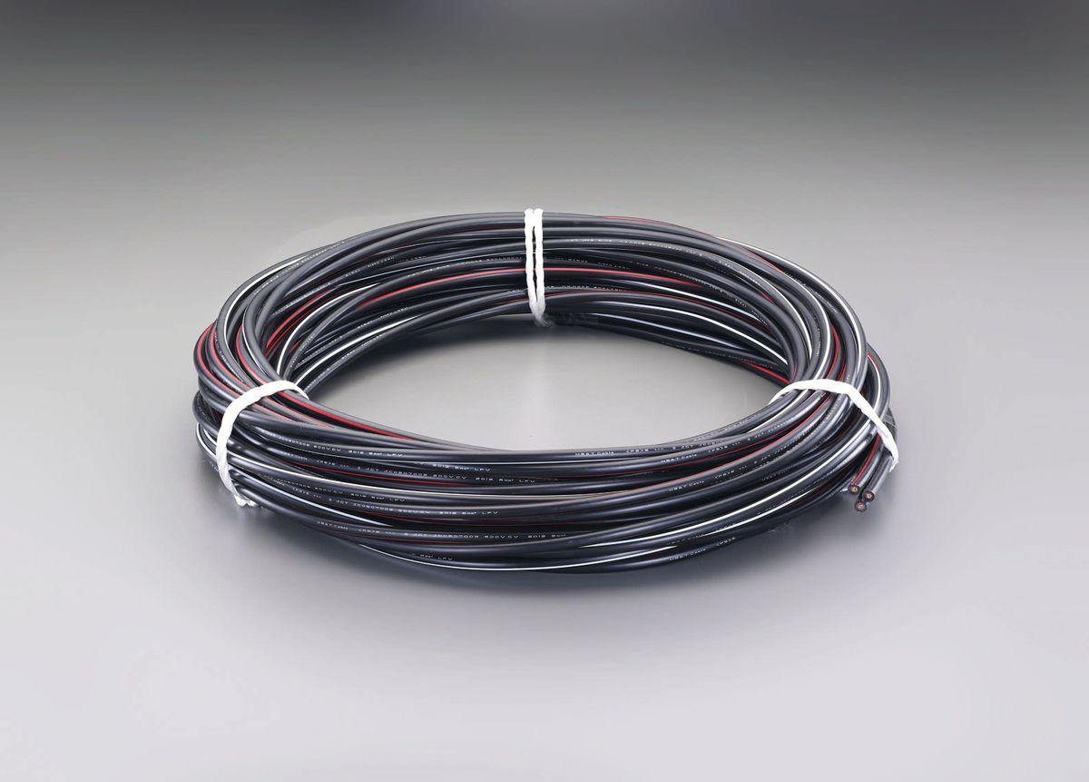 エスコ ESCO 86Ax20m 電力ケーブル 600V CVT/3芯 000012242184 JP店