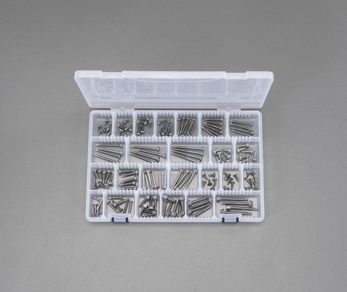 【メーカー在庫あり】 エスコ ESCO 4.0-5.0mm ドリルねじセット ステンレス製 000012231892 JP店