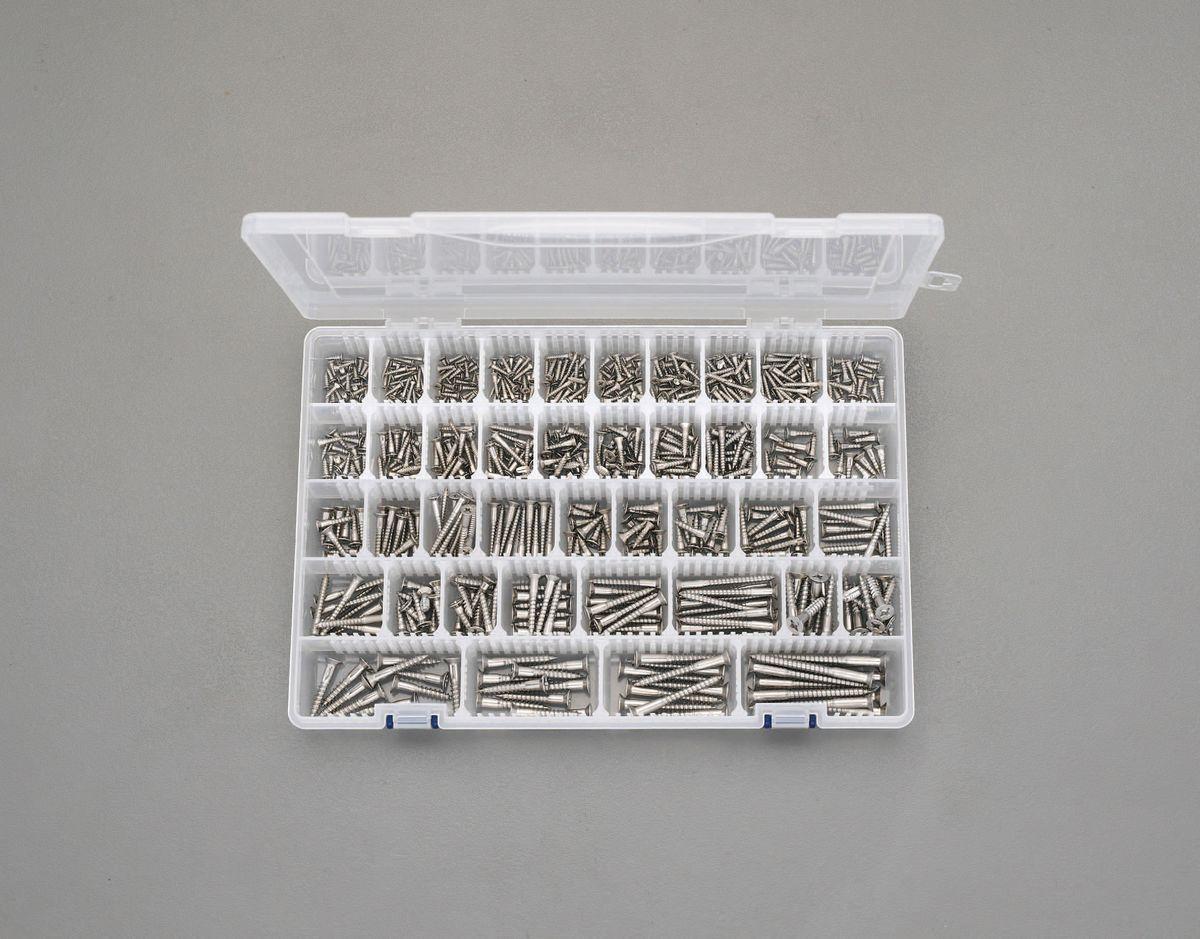 【メーカー在庫あり】 エスコ ESCO M2.1-M5.1 皿頭木ねじセット ステンレス製 000012243104 JP店