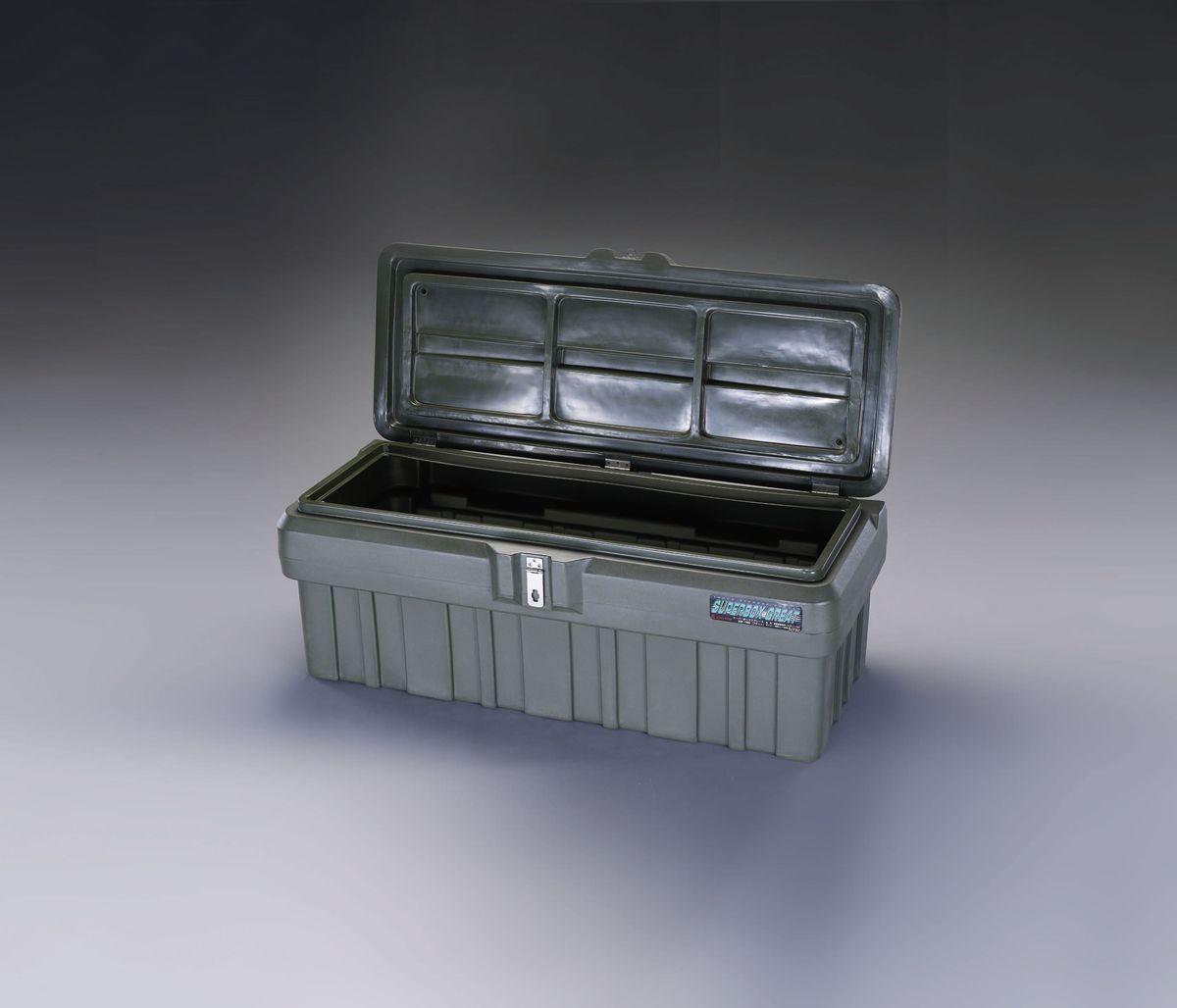 【メーカー在庫あり】 エスコ ESCO 1330x635x515mm 車載ケース 樹脂製/OD色 000012232666 JP店