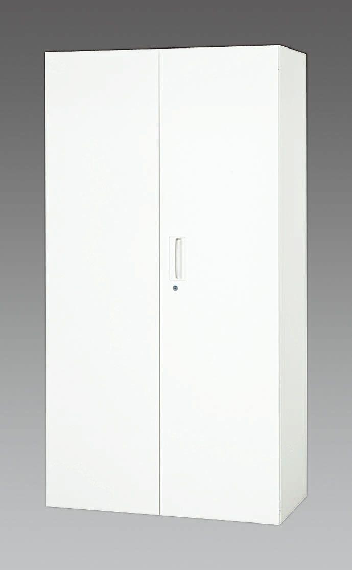 【メーカー在庫あり】 エスコ ESCO 900x400x1720mm 両開き書庫 000012234339 JP店