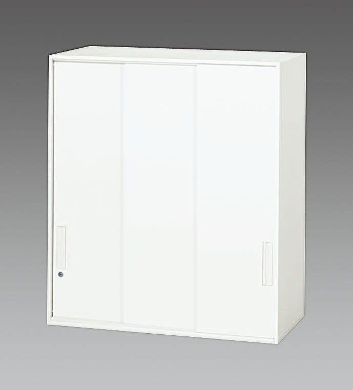 エスコ ESCO 900x500x1030mm 3枚引き戸書庫 000012261045 JP店