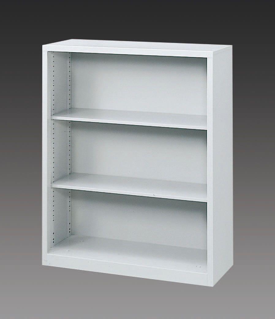 エスコ ESCO 900x400x1120mm オープン型書庫 000012075866 JP店