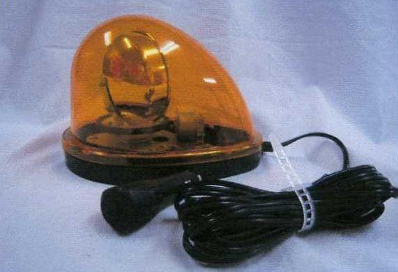 【メーカー在庫あり】 エスコ ESCO DC12V/24V ハイパワーLED回転灯 黄色 000012234800 JP店