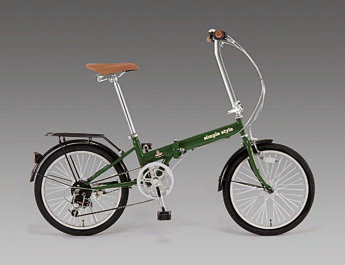 エスコ ESCO 20インチ 折畳み式自転車 000012233295 JP店