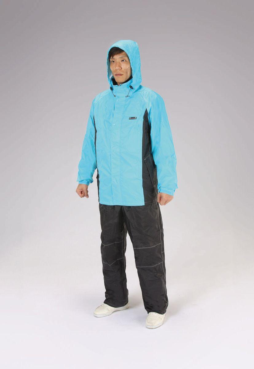 【メーカー在庫あり】 エスコ ESCO 3L 透湿型レインウェアー ブルー 000012245529 JP店