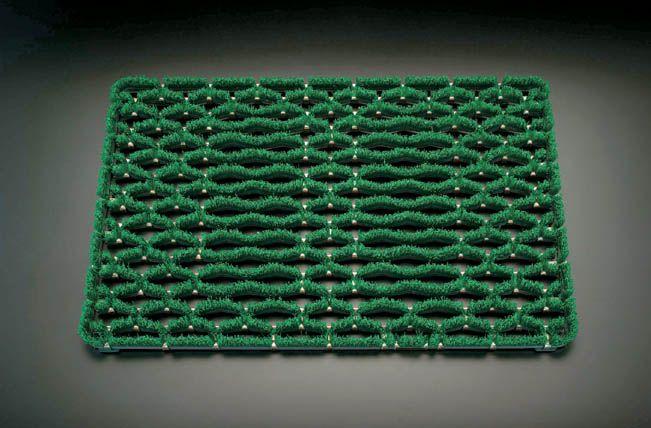 【メーカー在庫あり】 エスコ ESCO 500x1000mm 足ふきマット グリーン 000012025508 JP店