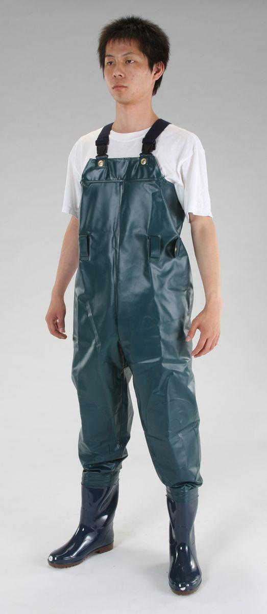 【メーカー在庫あり】 エスコ ESCO 27.0cm 耐油水中長靴 グリーン 000012094801 JP店