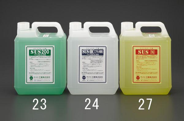 【メーカー在庫あり】 EA315MS-24 エスコ ESCO 4L 電解液 (中性・刷毛専用)
