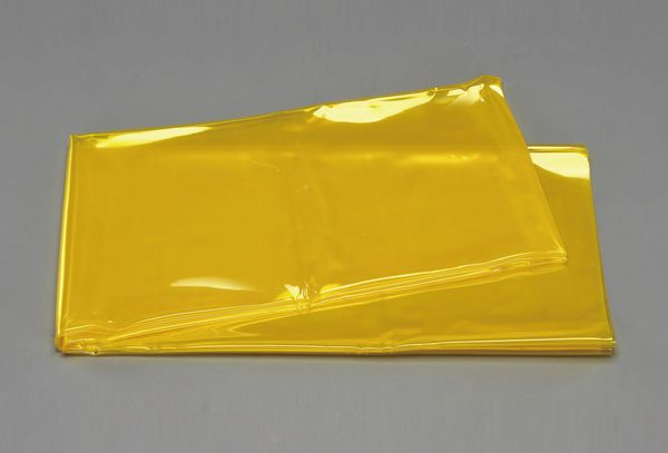 【メーカー在庫あり】 EA334BG-310 エスコ ESCO 1x10mx0.7mm 溶接作業用フィルム(黄色)