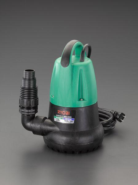 【メーカー在庫あり】 EA345CB-50 エスコ ESCO AC100V(50Hz)/50mm 水中ポンプ(汚水用)