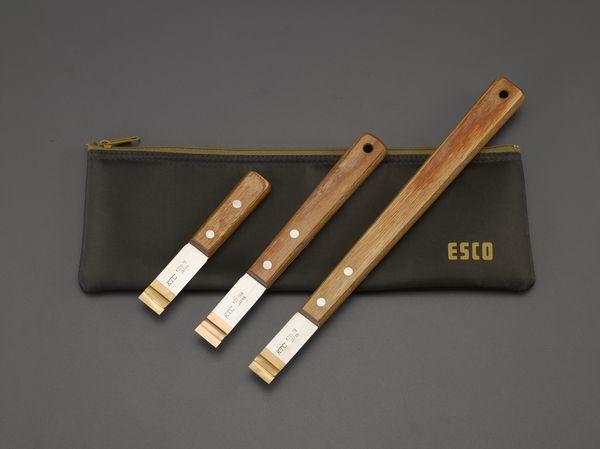 EA524-20 エスコ ESCO 3本組 超硬刃付スクレーパー