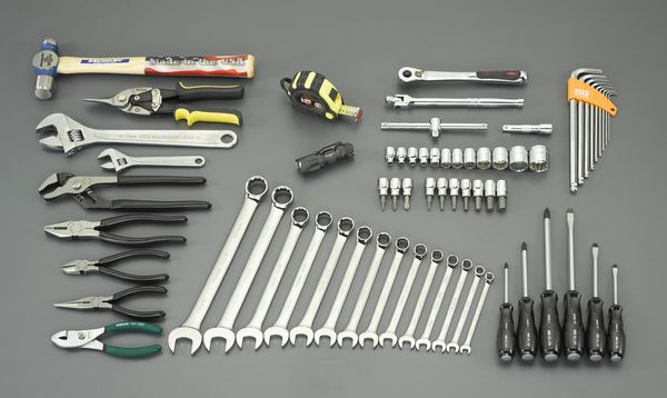 【メーカー在庫あり】 EA54 エスコ ESCO [66個組] 工具セット