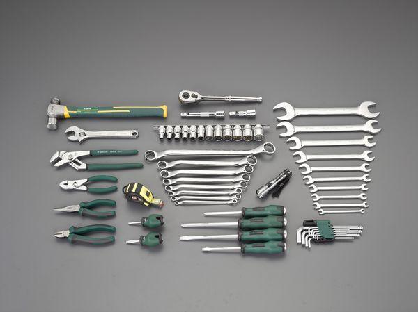 【メーカー在庫あり】 EA56 エスコ ESCO [56個組] 工具セット