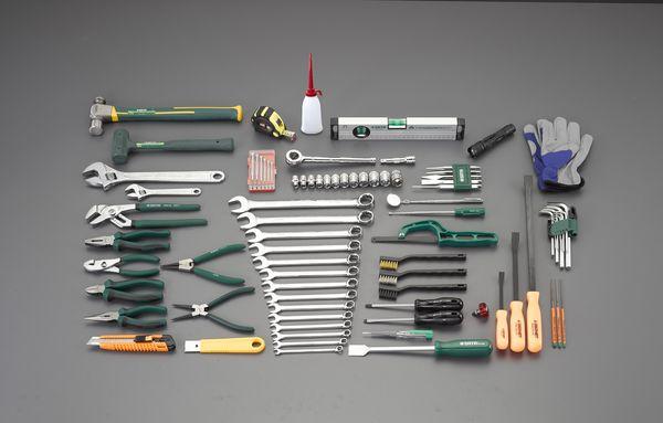 【メーカー在庫あり】 EA58 エスコ ESCO [87個組] 工具セット
