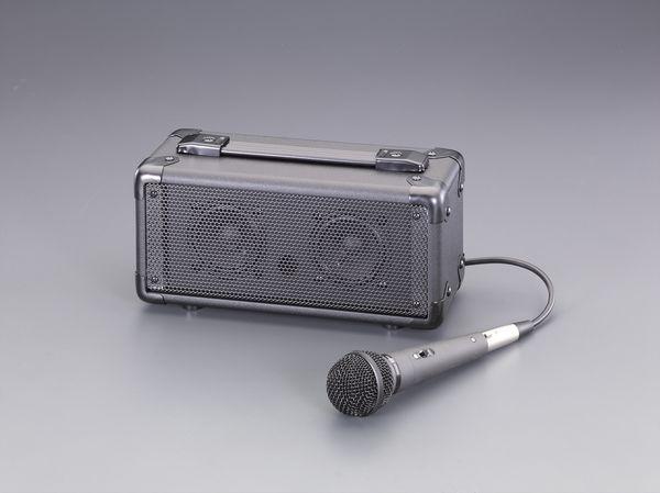 EA763CJ-1 エスコ ESCO マイク付拡声器スピーカー