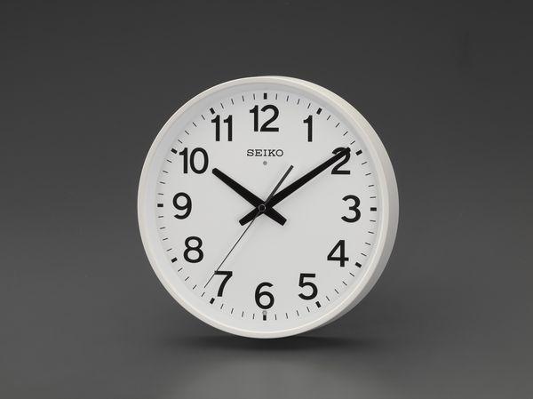EA798CC-55A エスコ ESCO φ310mm [電波]掛 時 計
