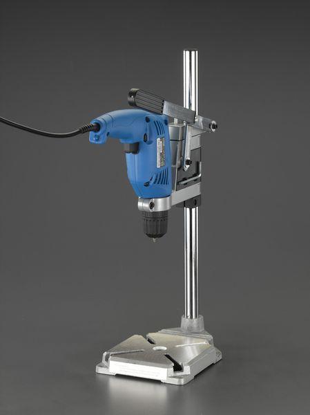 EA801A-60 エスコ ESCO 10mm/240W 無段変速・電気ドリル(ドリルスタンド付)