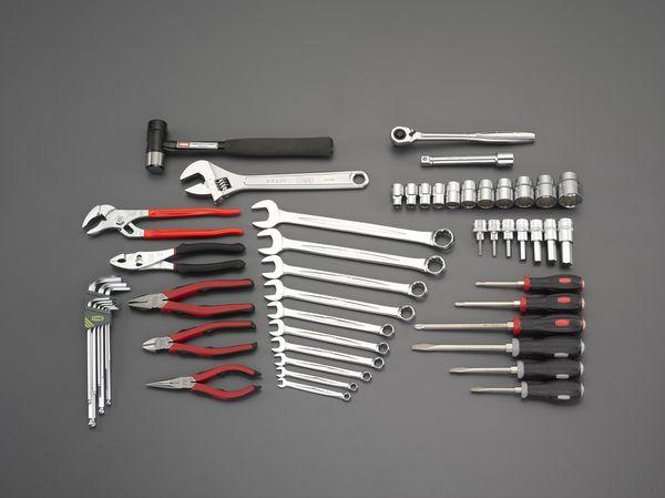 【メーカー在庫あり】 EA612SC-38A エスコ ESCO [52個組] 工具セット