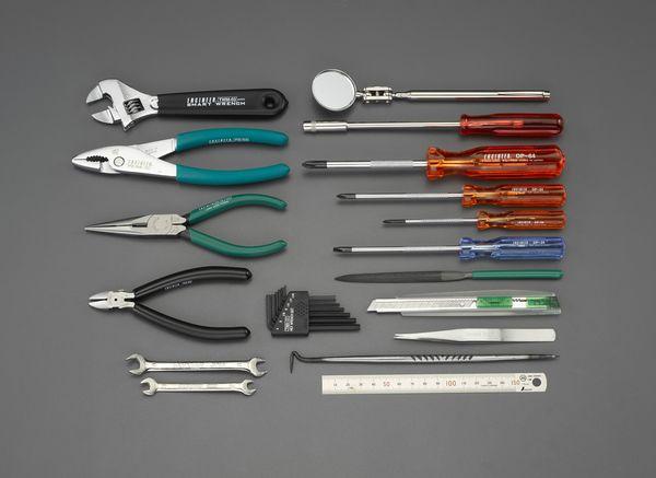 【メーカー在庫あり】 EA612SE-1 エスコ ESCO [24個組] 工具セット