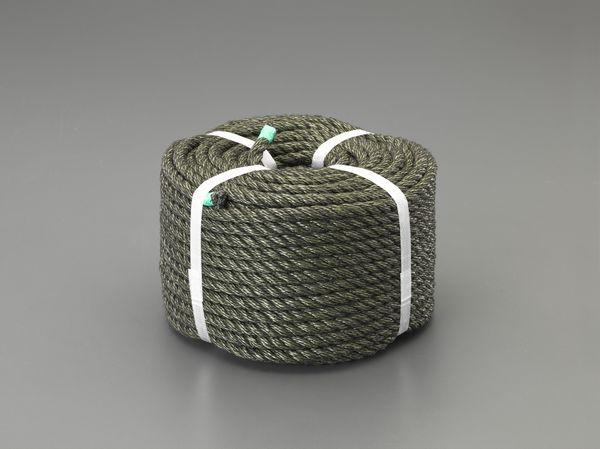 【メーカー在庫あり】 EA628TP-12 エスコ ESCO 12.0mmx100m 作業ロープ(OD色)