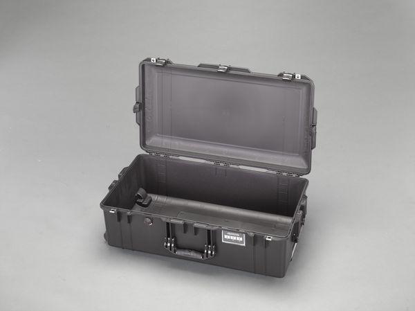 【メーカー在庫あり】 EA657-361NF エスコ ESCO 752x394x238mm/内寸万能防水ケース(軽黒ウレタン無