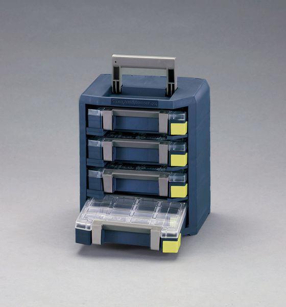 【メーカー在庫あり】 EA661AC-112 エスコ ESCO 290x247x342mm ハンディーボックス(パーツケース4個)