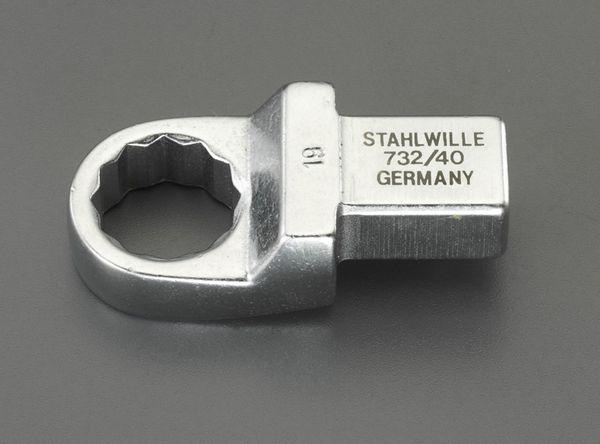 【メーカー在庫あり】 EA723SC-19 エスコ ESCO 19mm メガネヘッド(14x18mmジョイント用)
