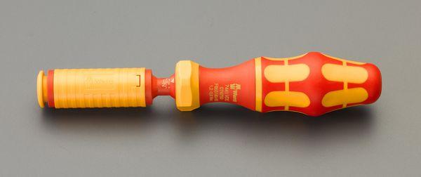 【メーカー在庫あり】 EA723VK-13 エスコ ESCO 1.7-3.5Nm絶縁トルクドライバー(アジャスタブル)