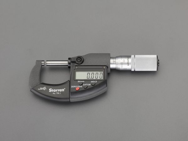 【メーカー在庫あり】 EA725EF-25A エスコ ESCO 0- 25mm デジタルマイクロメーター