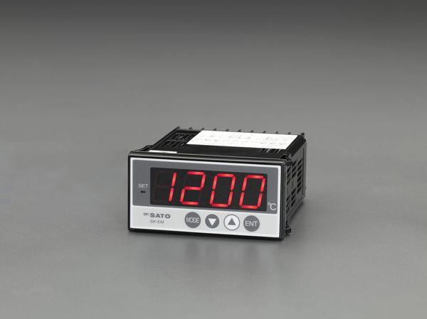 【メーカー在庫あり】 EA728AD-11 エスコ ESCO デジタル温度計(パネル埋め込み式)