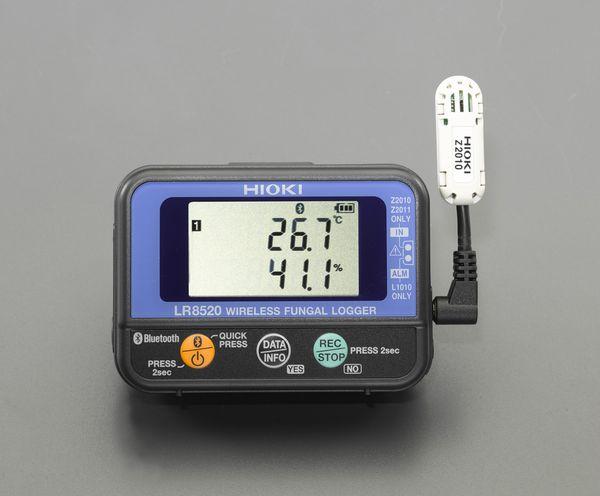 EA742HL-10 エスコ ESCO カビ指数計(ワイヤレス/温湿度計付)