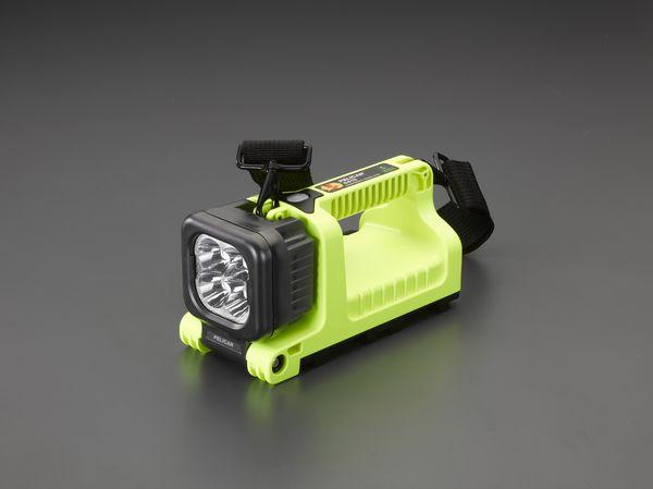 【メーカー在庫あり】 EA758WV-5 エスコ ESCO [充電式] 作業ライト/LED(防爆構造/黄)