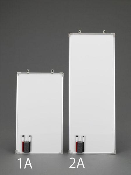 【メーカー在庫あり】 EA761LC-2A エスコ ESCO 900x 350mm ホワイトボード(2枚)