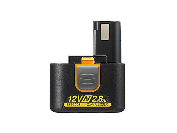 【メーカー在庫あり】 EA813PB-12 エスコ ESCO DC12.0V/2.8Ah 交換用バッテリー(ニッケル水素電池)