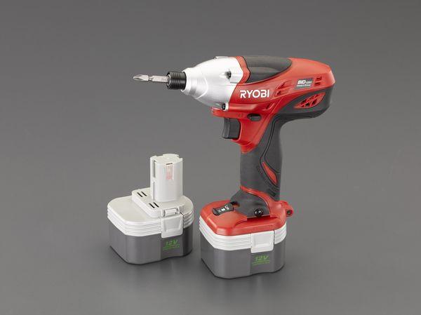 メーカー在庫あり EA813RK-5B エスコ [正規販売店] ESCO DC12V 充電式 インパクトドライバー メーカー在庫限り品
