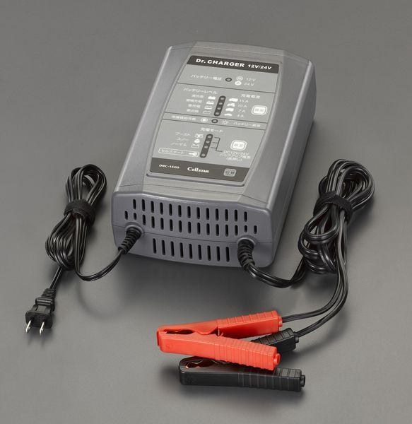 【メーカー在庫あり】 EA815YS-34 エスコ ESCO AC100V バッテリー充電器