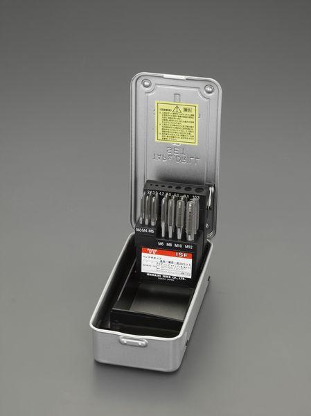 【メーカー在庫あり】 EA829DV-21 エスコ ESCO M3-M12 ハンドタップセット(SKS2/中)
