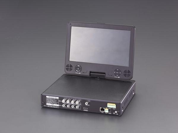 【メーカー在庫あり】 EA864CD-201B エスコ ESCO デジタルビデオレコーダー(モニター付)