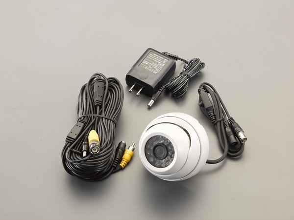 【メーカー在庫あり】 EA864CD-98 エスコ ESCO 防犯カメラ(屋内用)