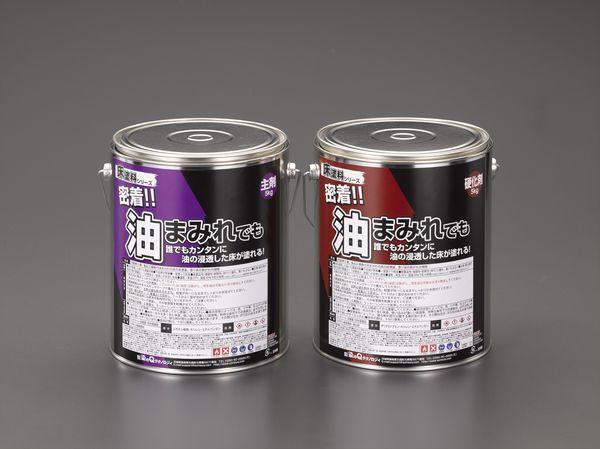 EA942DP-22 エスコ ESCO 10kg 床塗料(油床用/グレー)