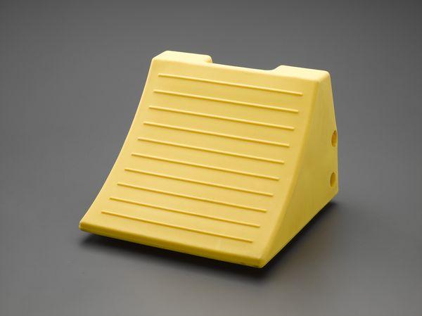 【メーカー在庫あり】 EA984SE-1A エスコ ESCO 384x381x280mm ホイールチョーク(ウレタン製)