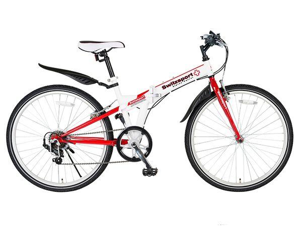 【メーカー在庫あり】 EA986Y-36B エスコ ESCO 26型 折りたたみ式自転車